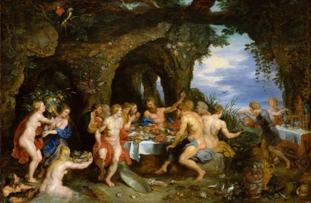 Achelous feast
