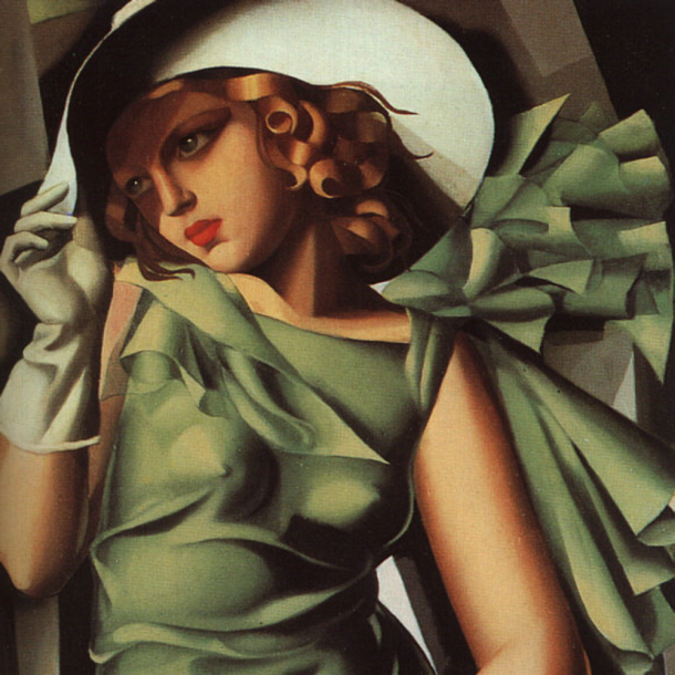art deco painting
