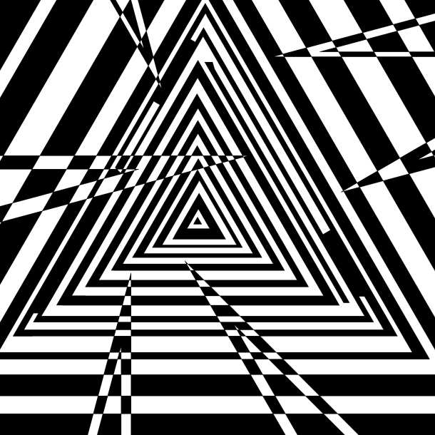 triangular-jagged-tunnel-casino-illusion